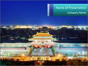 Beijing Forbidden City PowerPoint Templates