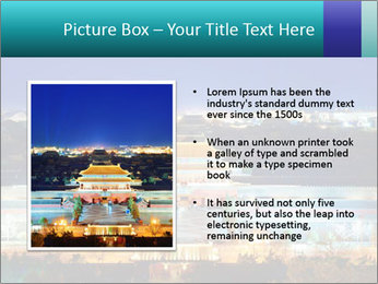 Beijing Forbidden City PowerPoint Template - Slide 13