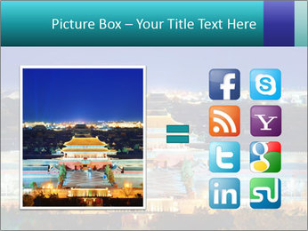Beijing Forbidden City PowerPoint Template - Slide 21