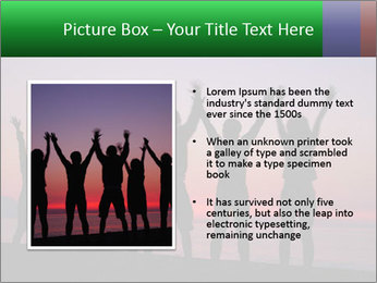 Silhouettes in sunset PowerPoint Templates - Slide 13