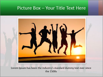 Silhouettes in sunset PowerPoint Templates - Slide 16