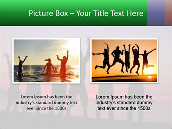 Silhouettes in sunset PowerPoint Template - Slide 18