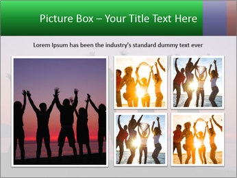 Silhouettes in sunset PowerPoint Templates - Slide 19