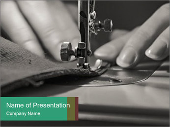 Women's hands PowerPoint Templates - Slide 1