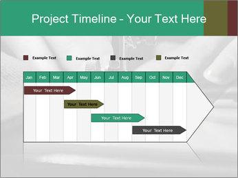 Women's hands PowerPoint Templates - Slide 25