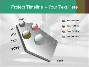 Women's hands PowerPoint Templates - Slide 26