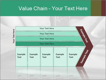 Women's hands PowerPoint Templates - Slide 27