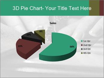 Women's hands PowerPoint Templates - Slide 35