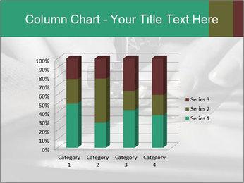 Women's hands PowerPoint Templates - Slide 50