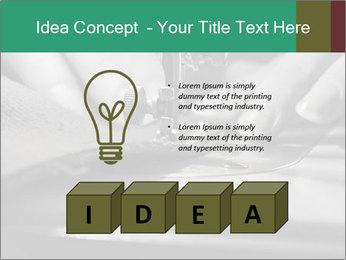 Women's hands PowerPoint Templates - Slide 80
