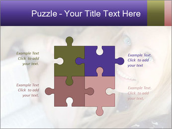 Young Christian woman PowerPoint Template - Slide 43