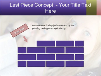 Young Christian woman PowerPoint Template - Slide 46