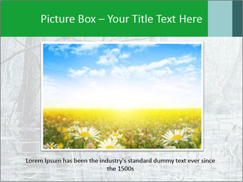 Swamp in fog PowerPoint Template - Slide 15