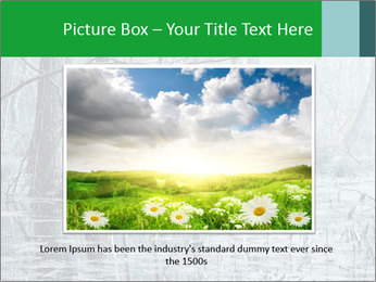 Swamp in fog PowerPoint Template - Slide 16