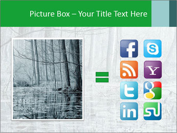 Swamp in fog PowerPoint Template - Slide 21