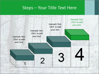 Swamp in fog PowerPoint Template - Slide 64