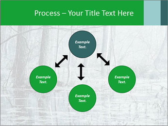Swamp in fog PowerPoint Template - Slide 91