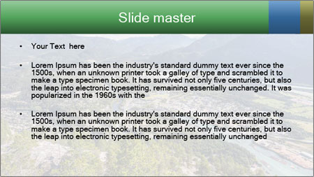 Squeamish town PowerPoint Template - Slide 2