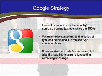 Active businessman running PowerPoint Template - Slide 10