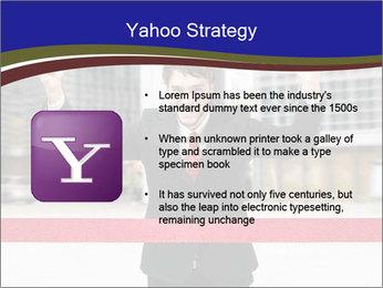 Active businessman running PowerPoint Template - Slide 11