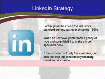 Active businessman running PowerPoint Template - Slide 12