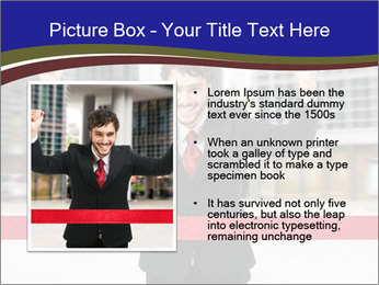 Active businessman running PowerPoint Template - Slide 13