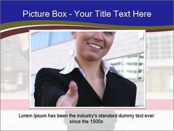 Active businessman running PowerPoint Template - Slide 16