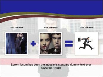 Active businessman running PowerPoint Template - Slide 22