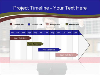 Active businessman running PowerPoint Template - Slide 25