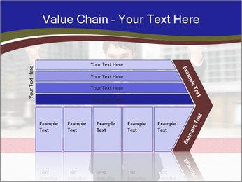 Active businessman running PowerPoint Template - Slide 27