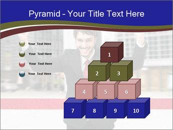 Active businessman running PowerPoint Template - Slide 31