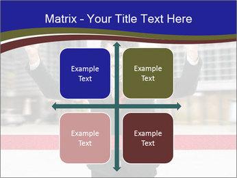 Active businessman running PowerPoint Template - Slide 37