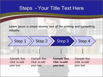 Active businessman running PowerPoint Template - Slide 4