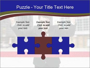 Active businessman running PowerPoint Template - Slide 42