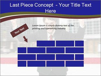 Active businessman running PowerPoint Template - Slide 46