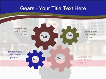 Active businessman running PowerPoint Template - Slide 47