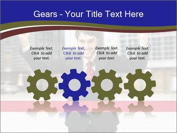Active businessman running PowerPoint Template - Slide 48