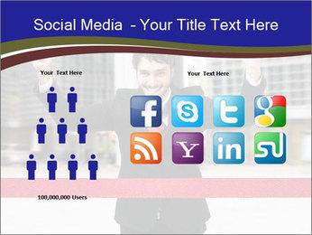Active businessman running PowerPoint Template - Slide 5