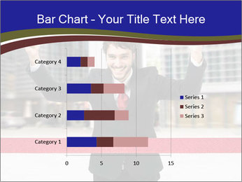 Active businessman running PowerPoint Template - Slide 52