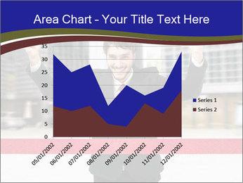 Active businessman running PowerPoint Template - Slide 53