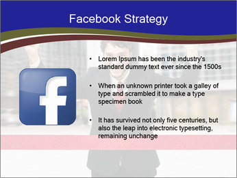 Active businessman running PowerPoint Template - Slide 6
