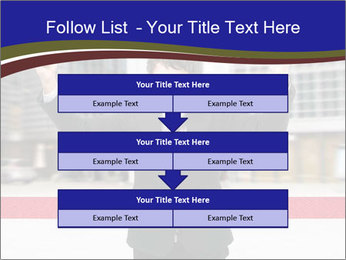 Active businessman running PowerPoint Template - Slide 60