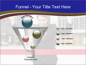 Active businessman running PowerPoint Template - Slide 63