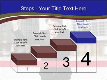 Active businessman running PowerPoint Template - Slide 64