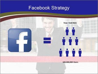 Active businessman running PowerPoint Template - Slide 7