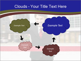 Active businessman running PowerPoint Template - Slide 72