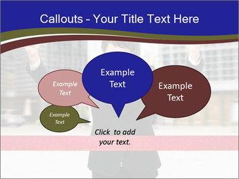 Active businessman running PowerPoint Template - Slide 73
