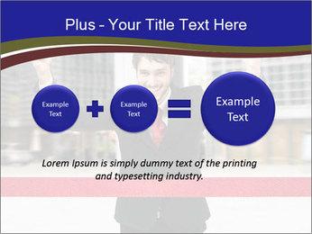 Active businessman running PowerPoint Template - Slide 75