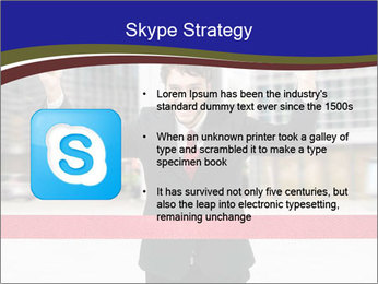 Active businessman running PowerPoint Template - Slide 8