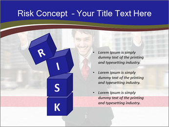 Active businessman running PowerPoint Template - Slide 81